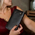 Billetera para mujer porta chequera